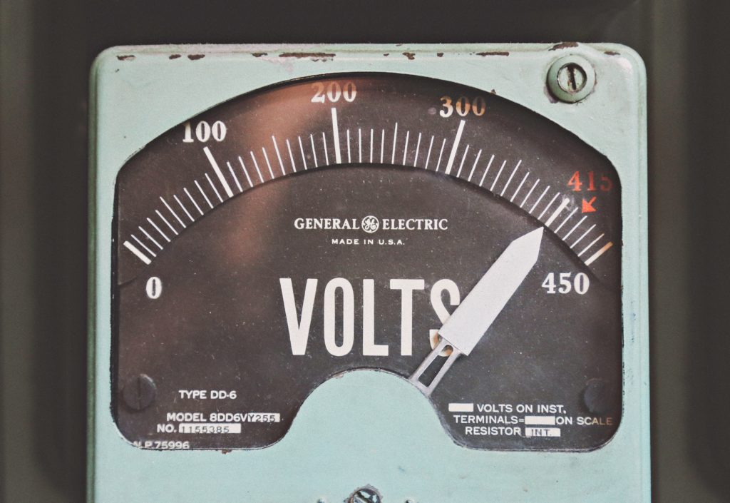 electricity volts energy