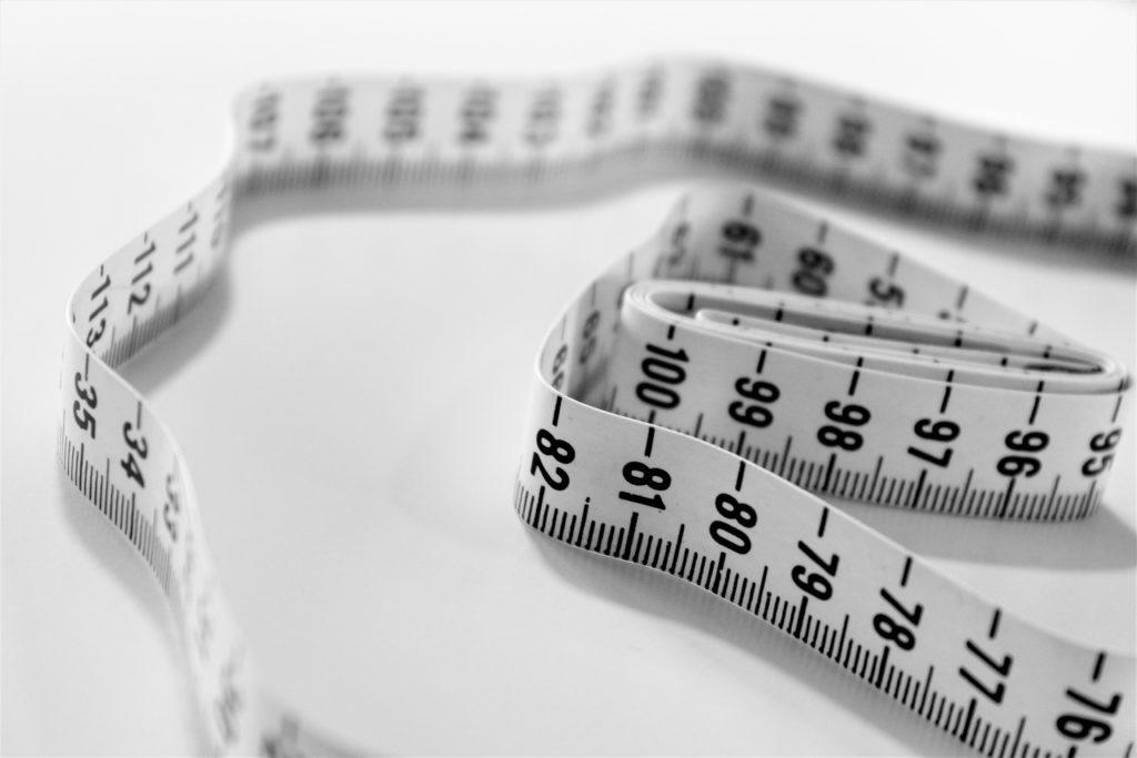 tape measure loss fat