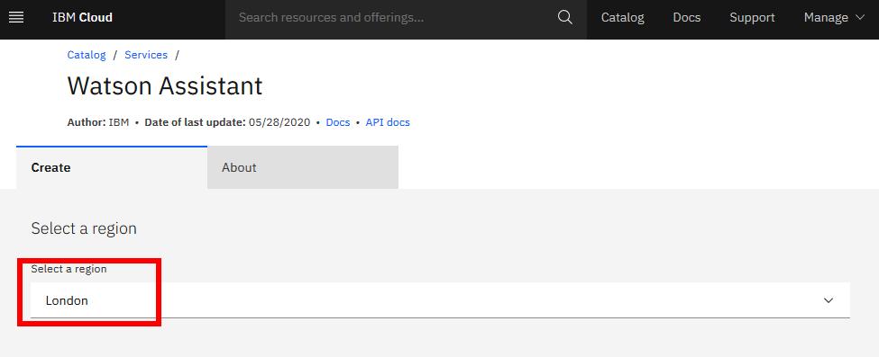 ibm watson assistant chatbot dialog cloud