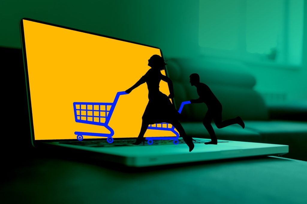 people run online shop